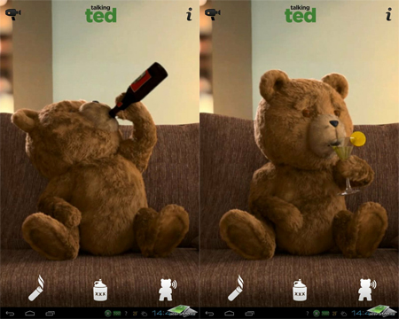 Игра Talking Ted Uncensored
