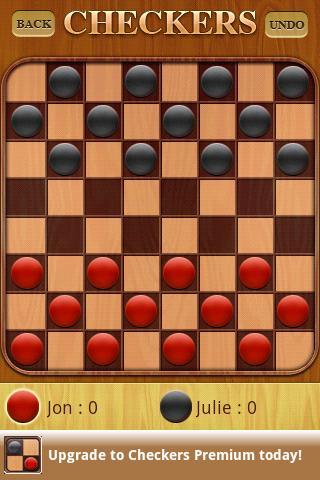 """Игра """"Checkers"""" на Андроид"""