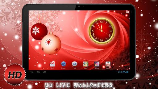 Новый год Free HD Живые Обои для планшетов на Android