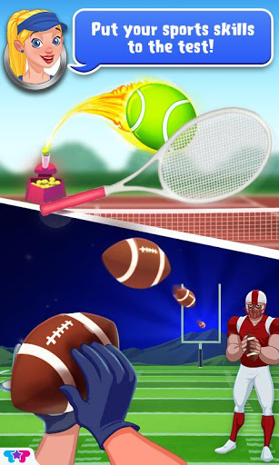 Игра Sports Dream Team для планшетов на Android