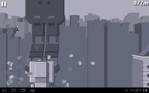 """Игра """"Canabalt HD"""" для планшетов на Android"""