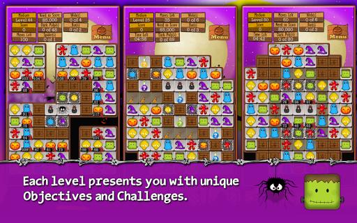 Halloween Drops - Match three для планшетов на Android