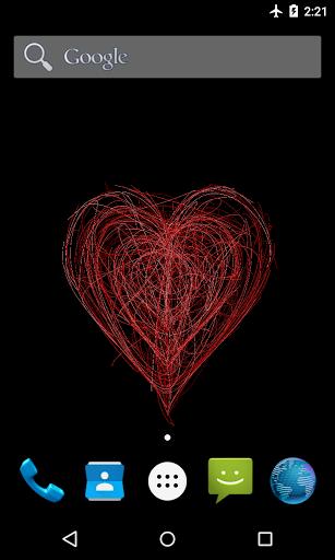 Мистическое сердце — Живые обои