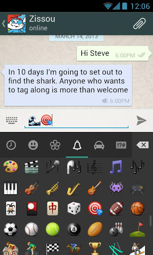 WhatsApp Messenger для планшетов на Android