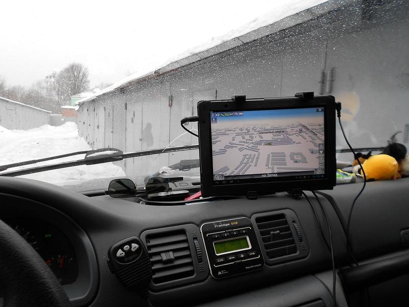 Планшет с навигатором для автомобиля