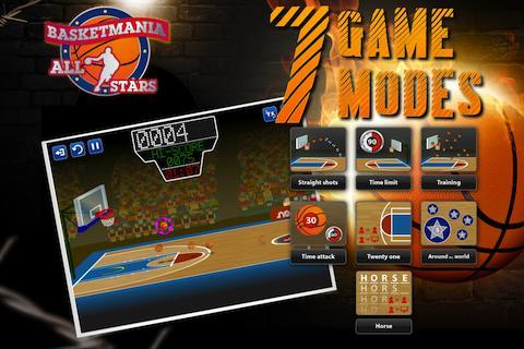 """Игра """"Basketball All-Stars HD"""" для планшетов на Android"""