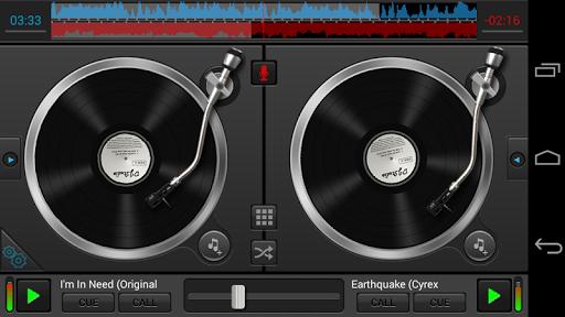 Диджейская программа DJ Studio на Андроид