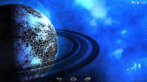 Space Aura 3D LWP для планшетов на Android