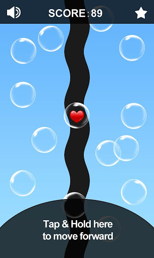 Игра Avoid the Bubble на Андроид