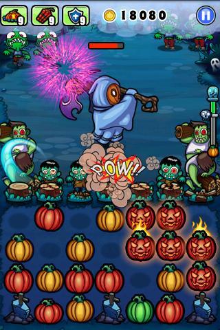 Игра Pumpkins vs. Monsters для планшетов на Android