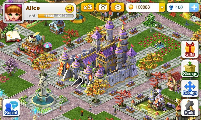 Игра Miracle City Online для планшетов на Android