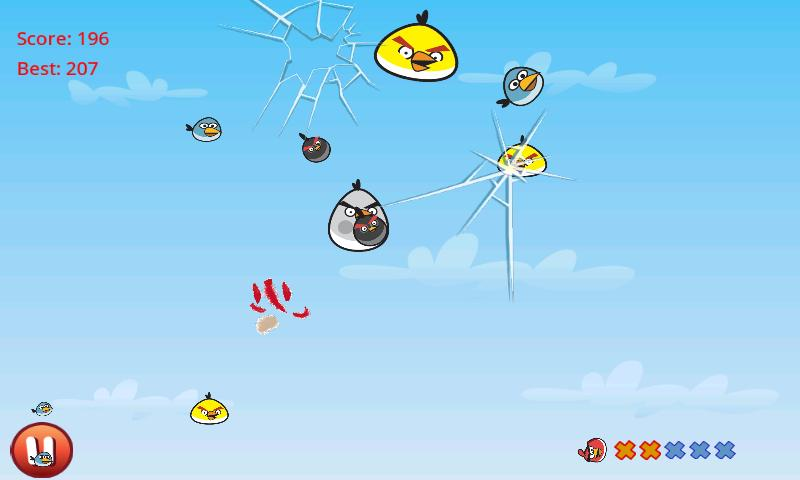 Игра Cut the Birds для планшетов на Android