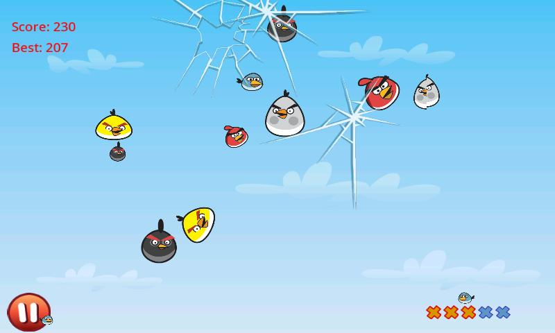 Игра Cut the Birds на Андроид