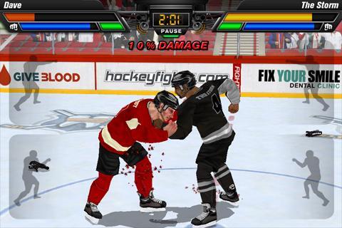 "Игра ""Hockey Fight Pro"" на Андроид"
