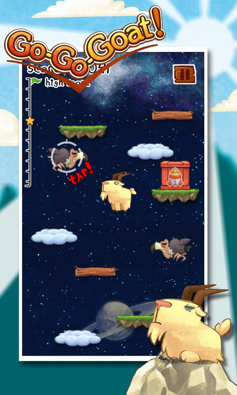 Игра Go Go Goat! для планшетов на Android
