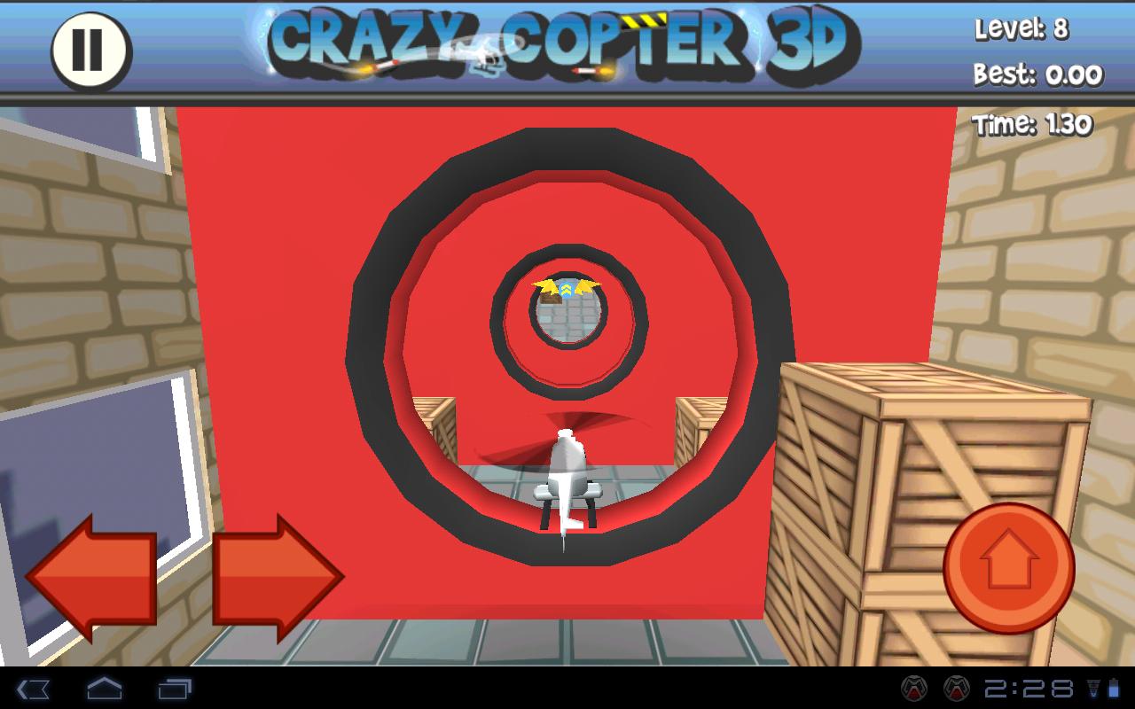 Игра Paper Glider Crazy Copter 3D для планшетов на Android
