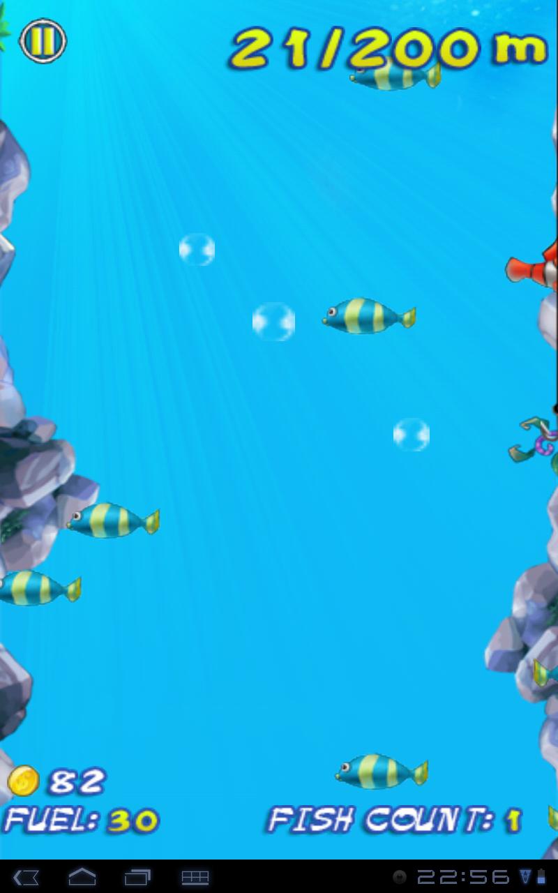 Игра Bear Fishing для планшетов на Android