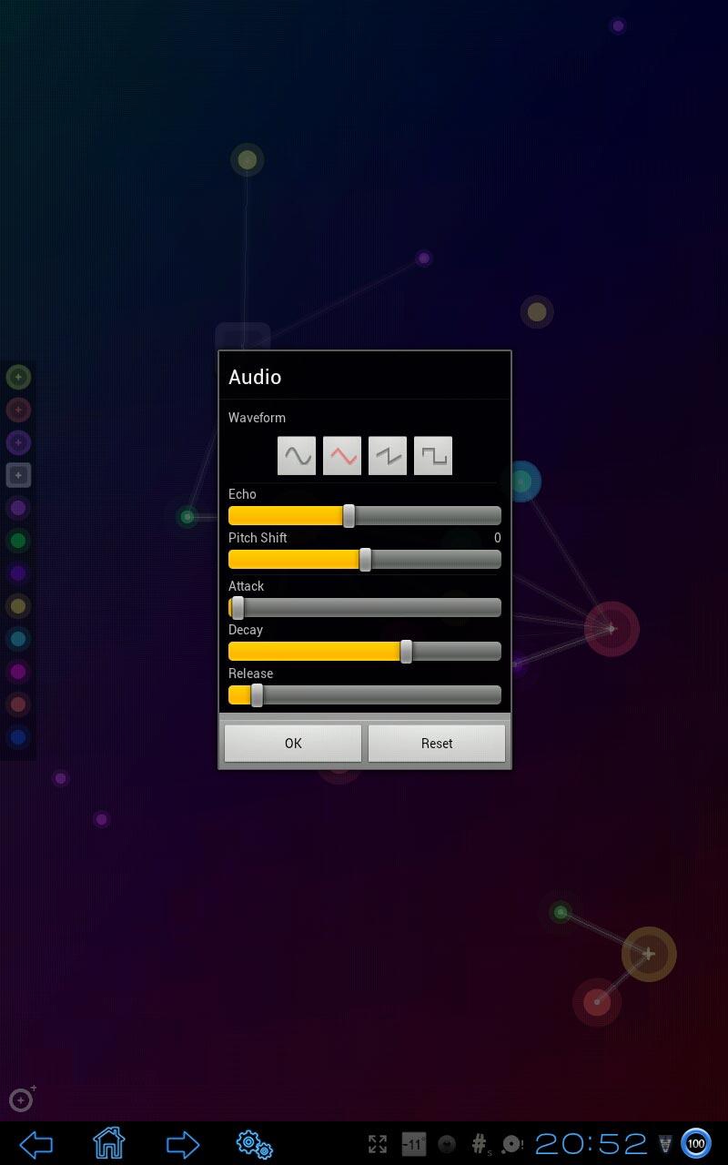 """Приложение """"NodeBeat"""" для планшетов на Android"""