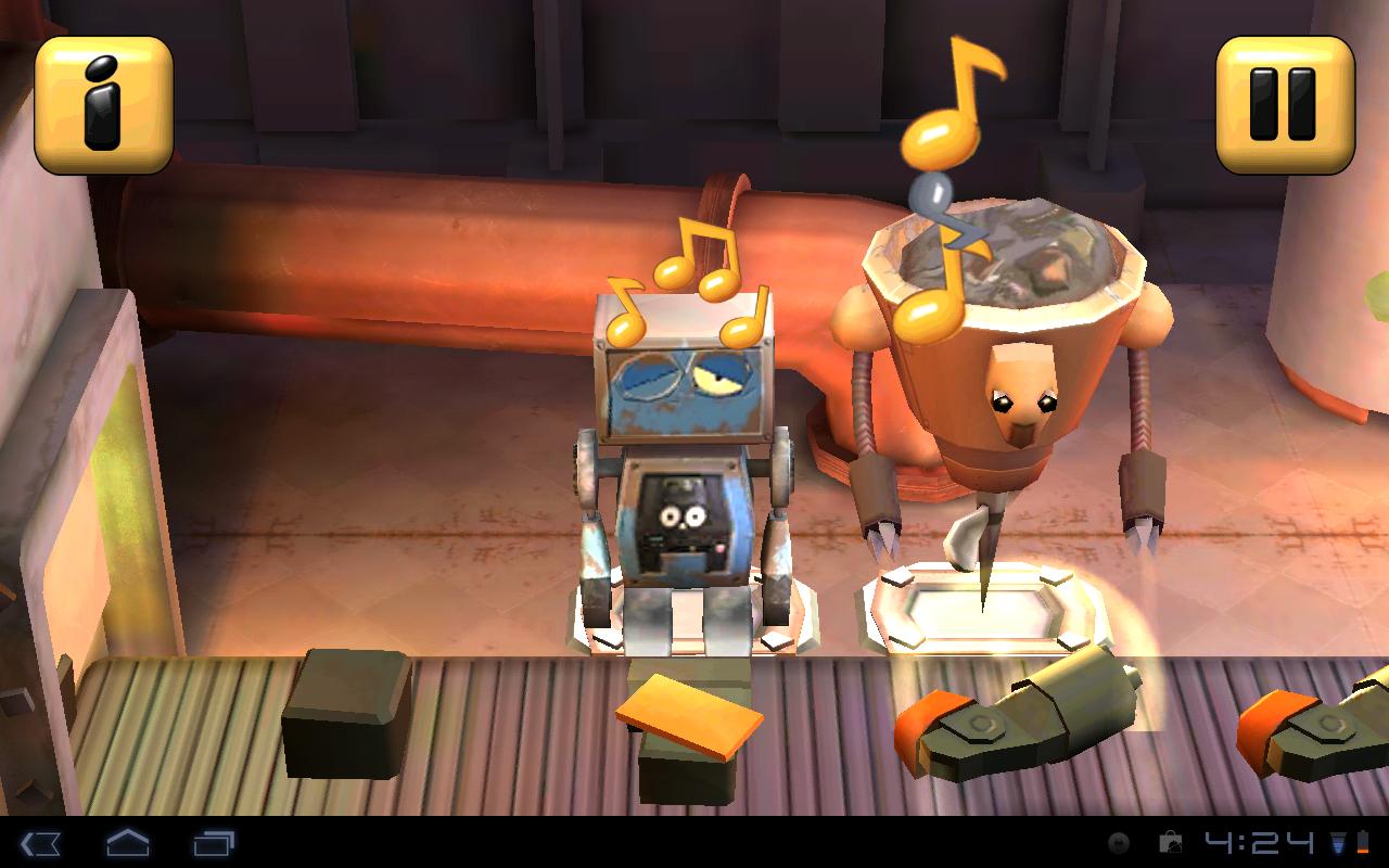 Игра RoboFonics для планшетов на Android