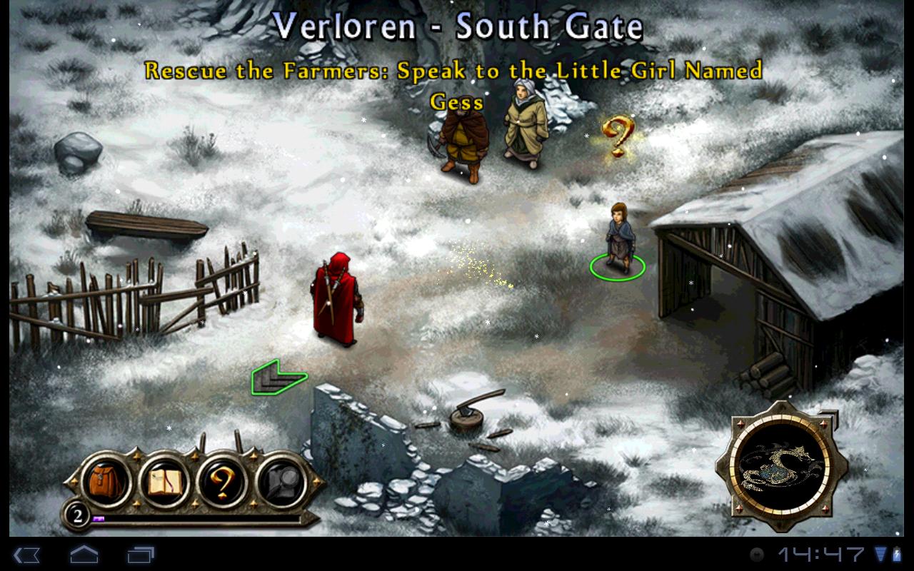 "Игра ""Puzzle Quest 2"" для планшетов на Android"