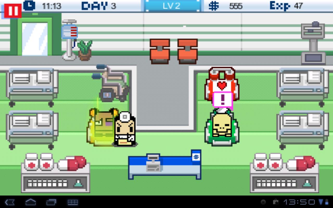 """Игра """"Hospital Story"""" для планшетов на Android"""