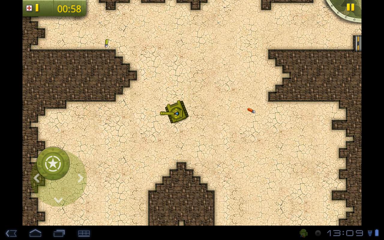 "Игра ""Tiny Tanks"" для планшетов на Android"