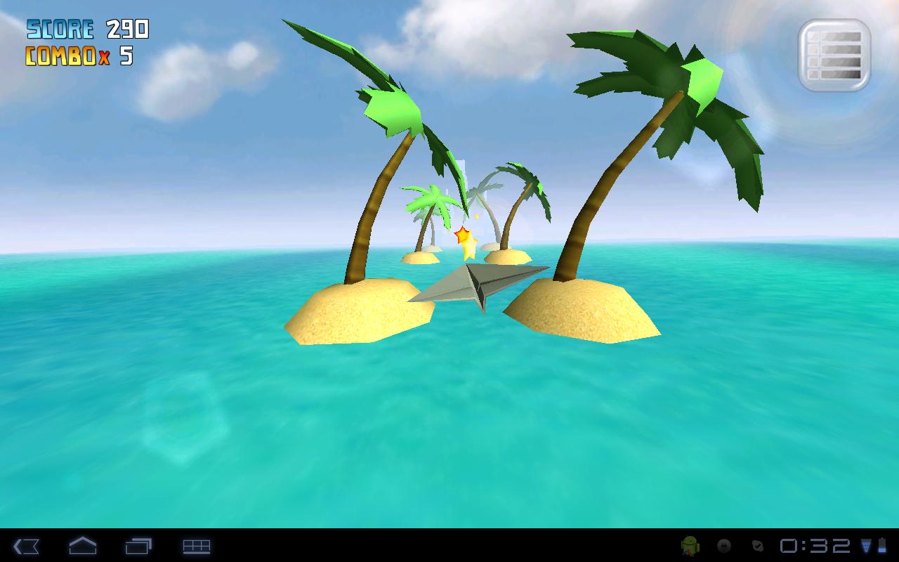 "Игра ""My Paper Plane 3"" для планшетов на Android"