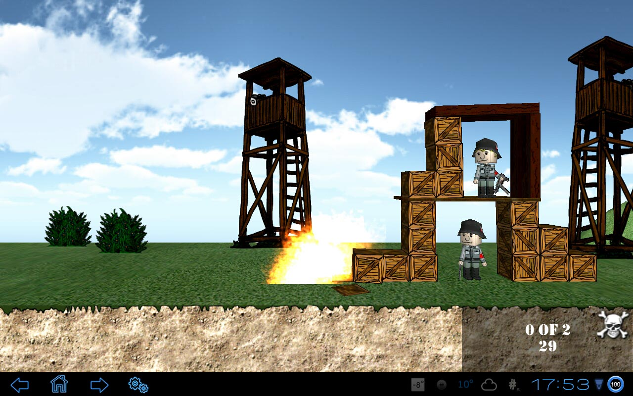 "Игра ""Angry World War 2"" для планшетов на Android"