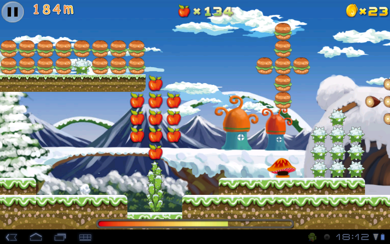 "Игра ""Croco Runner"" для планшетов на Android"
