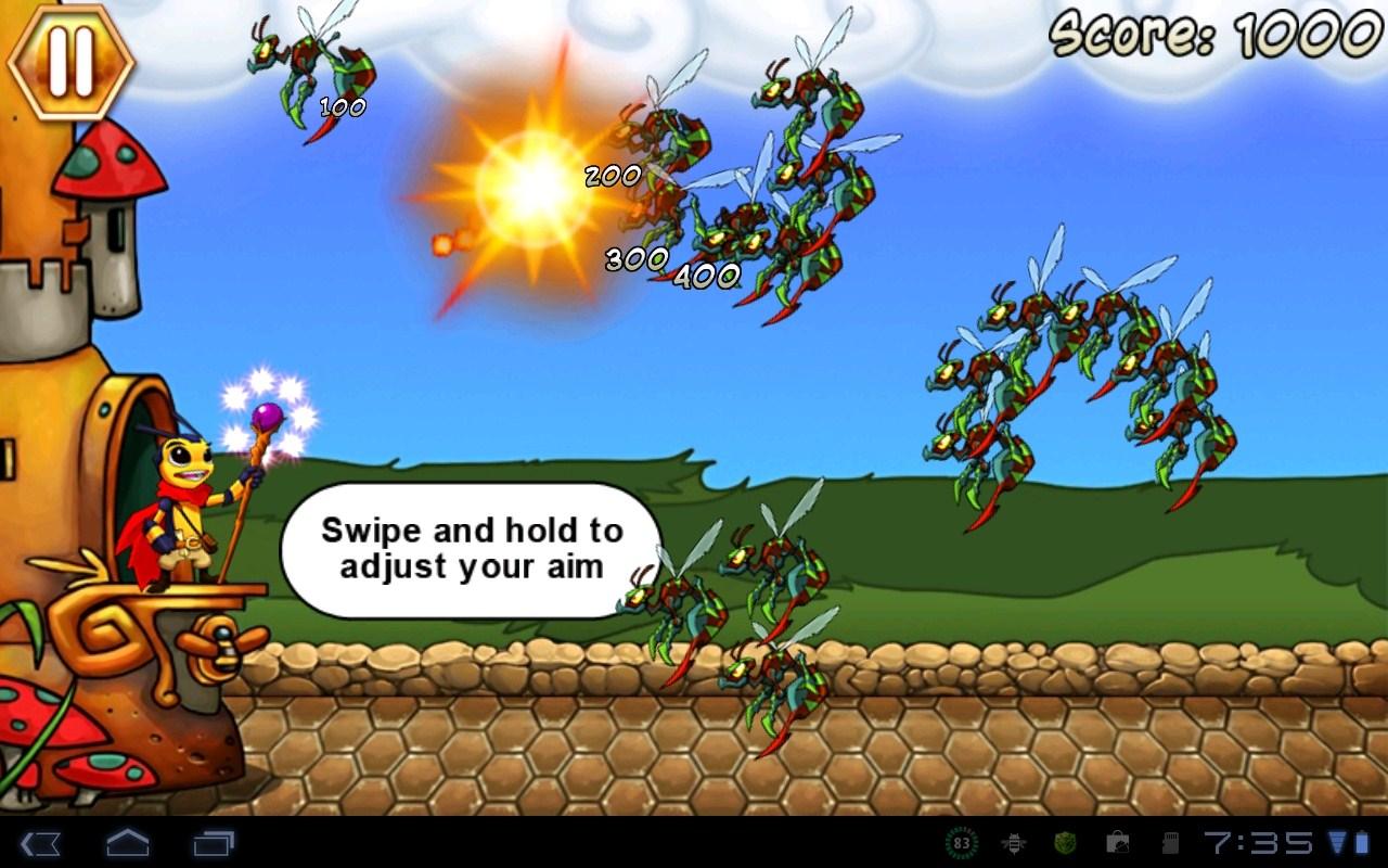 """Игра """"Bumbledore"""" для планшетов на Android"""