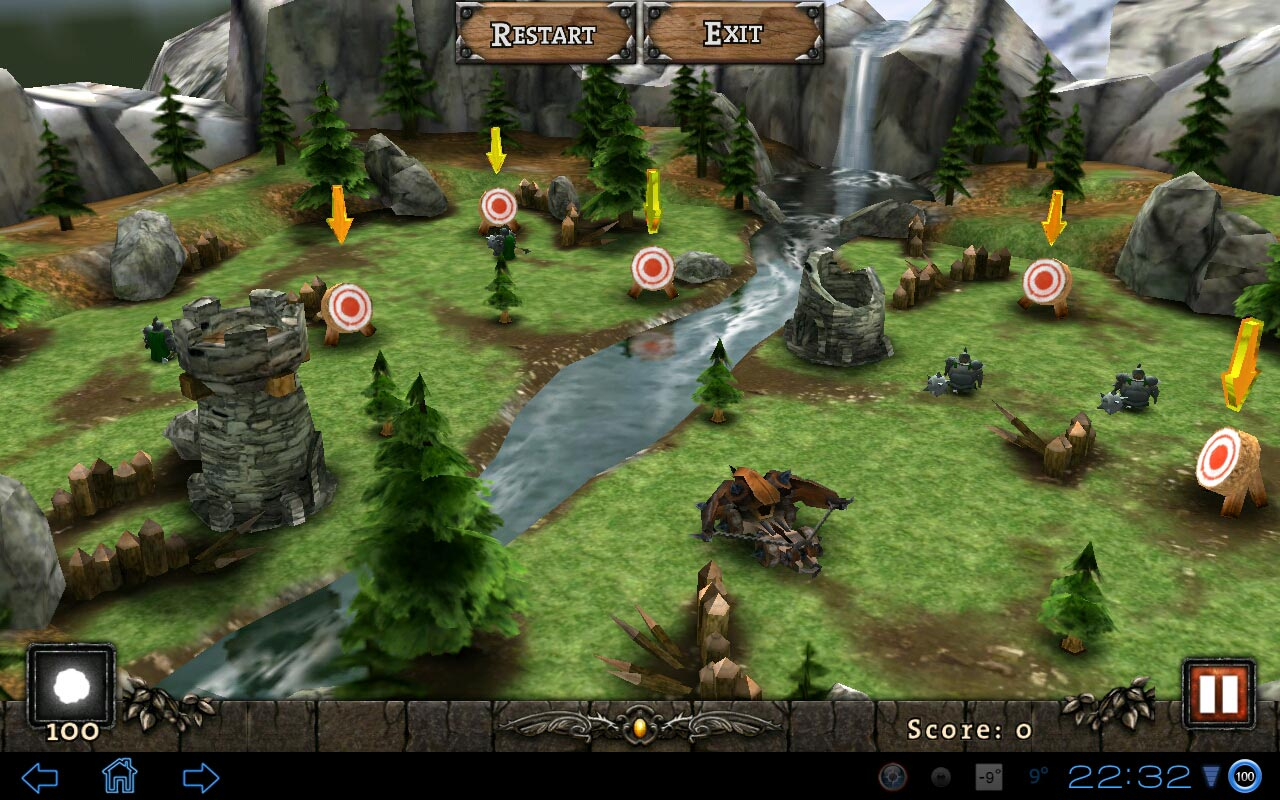 "Игра ""Siegecraft THD"" на Андроид"