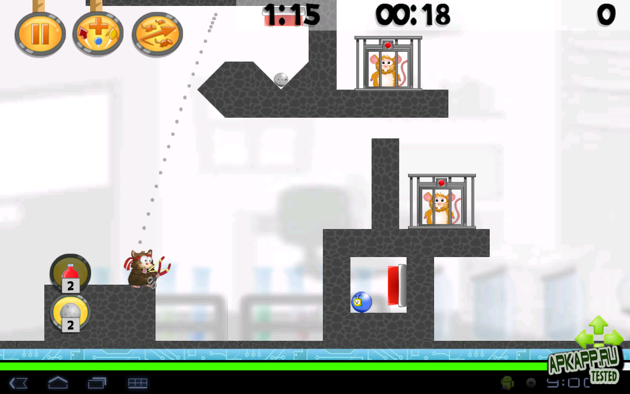 "Игра ""Hamster: Attack!"" для планшетов на Android"