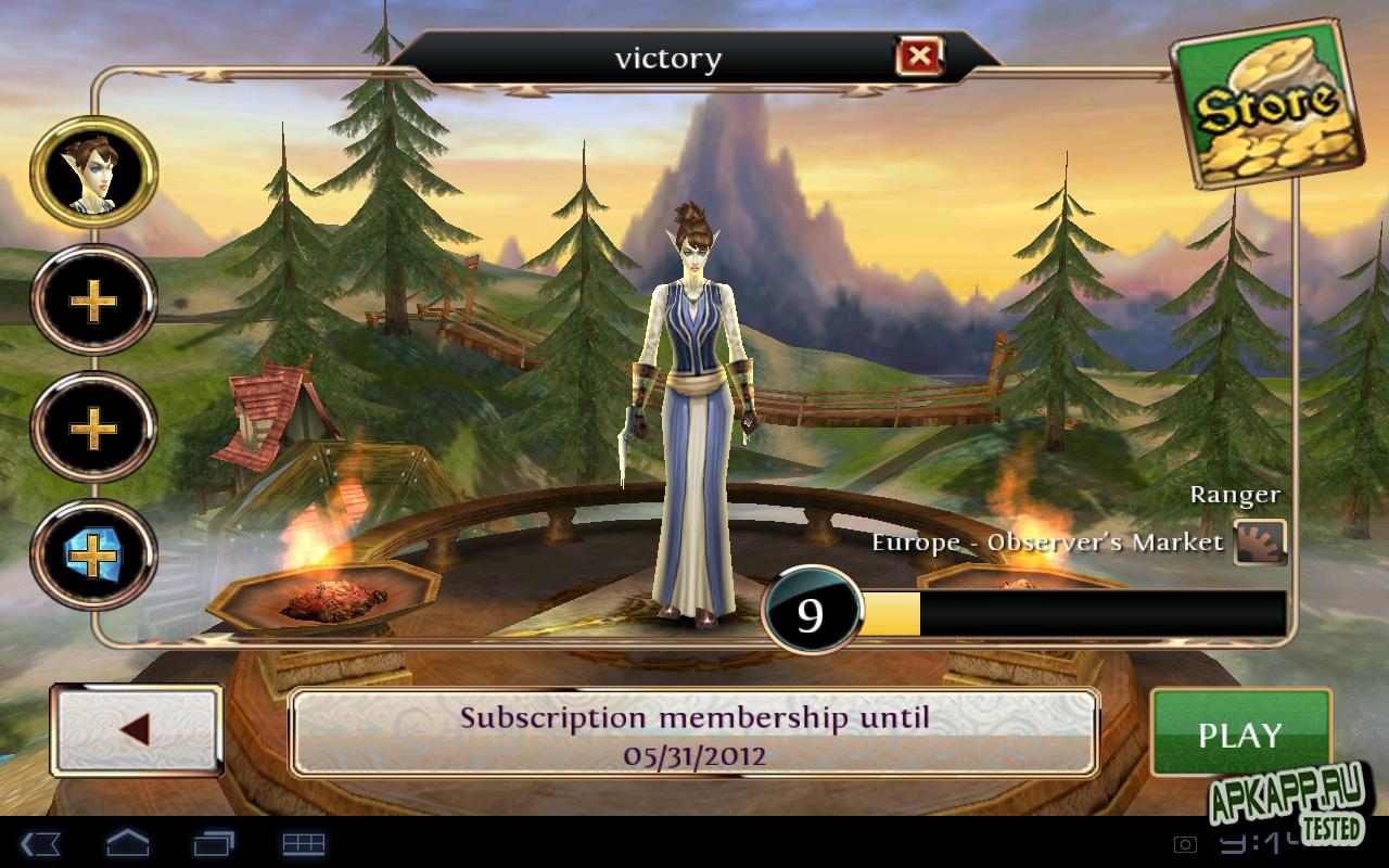 "Игра ""Order & Chaos Online: Mendels Rising"" для планшетов на Android"