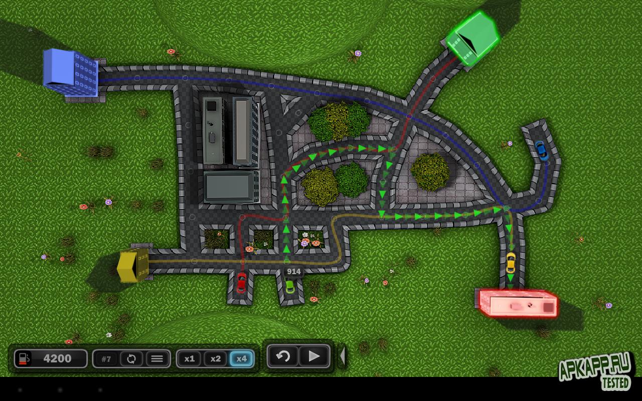 """Игра """"Traffic Wonder HD"""" для планшетов на Android"""