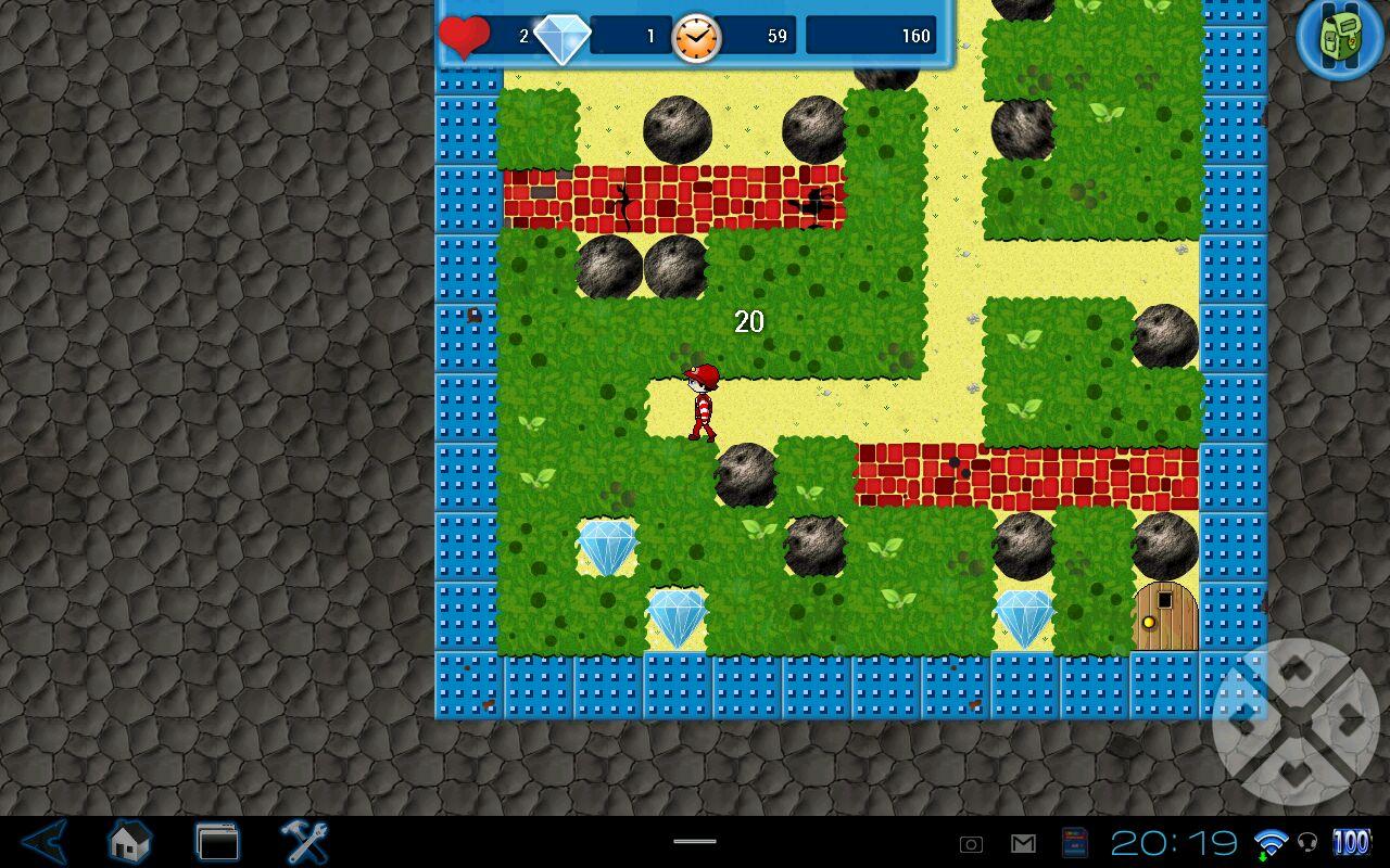 "Игра ""Boulder Dash®-The Collection™"" для планшетов на Android"