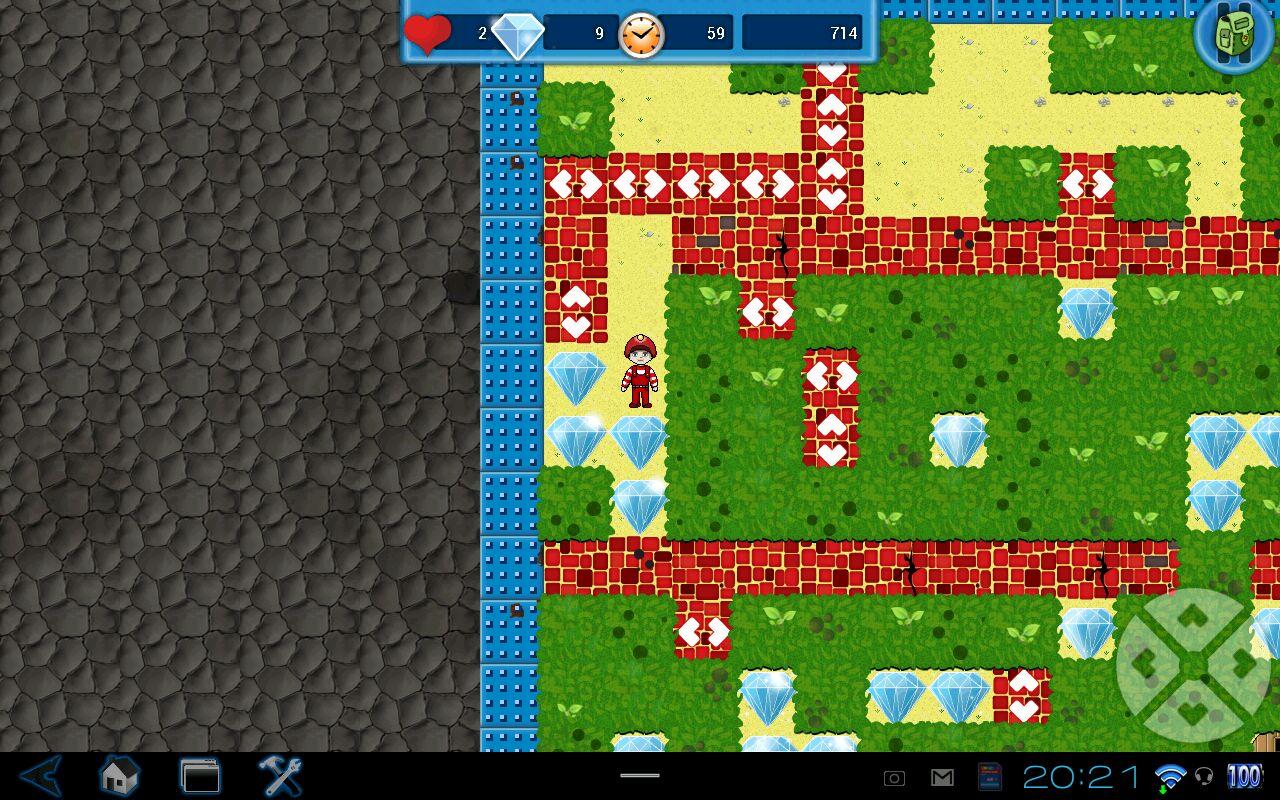 "Игра ""Boulder Dash®-The Collection™"" на Андроид"
