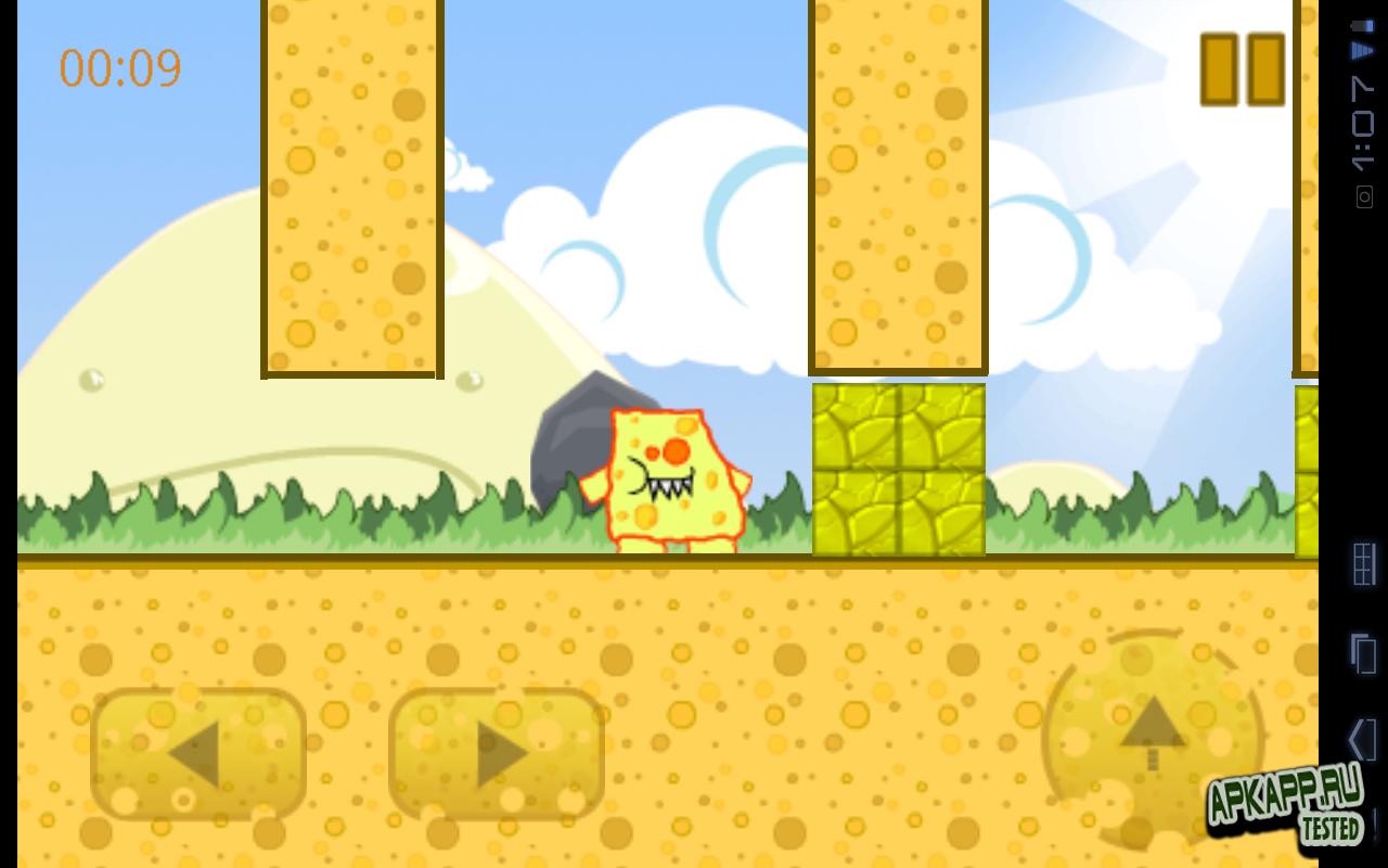 "Игра ""CheeseMan"" для планшетов на Android"