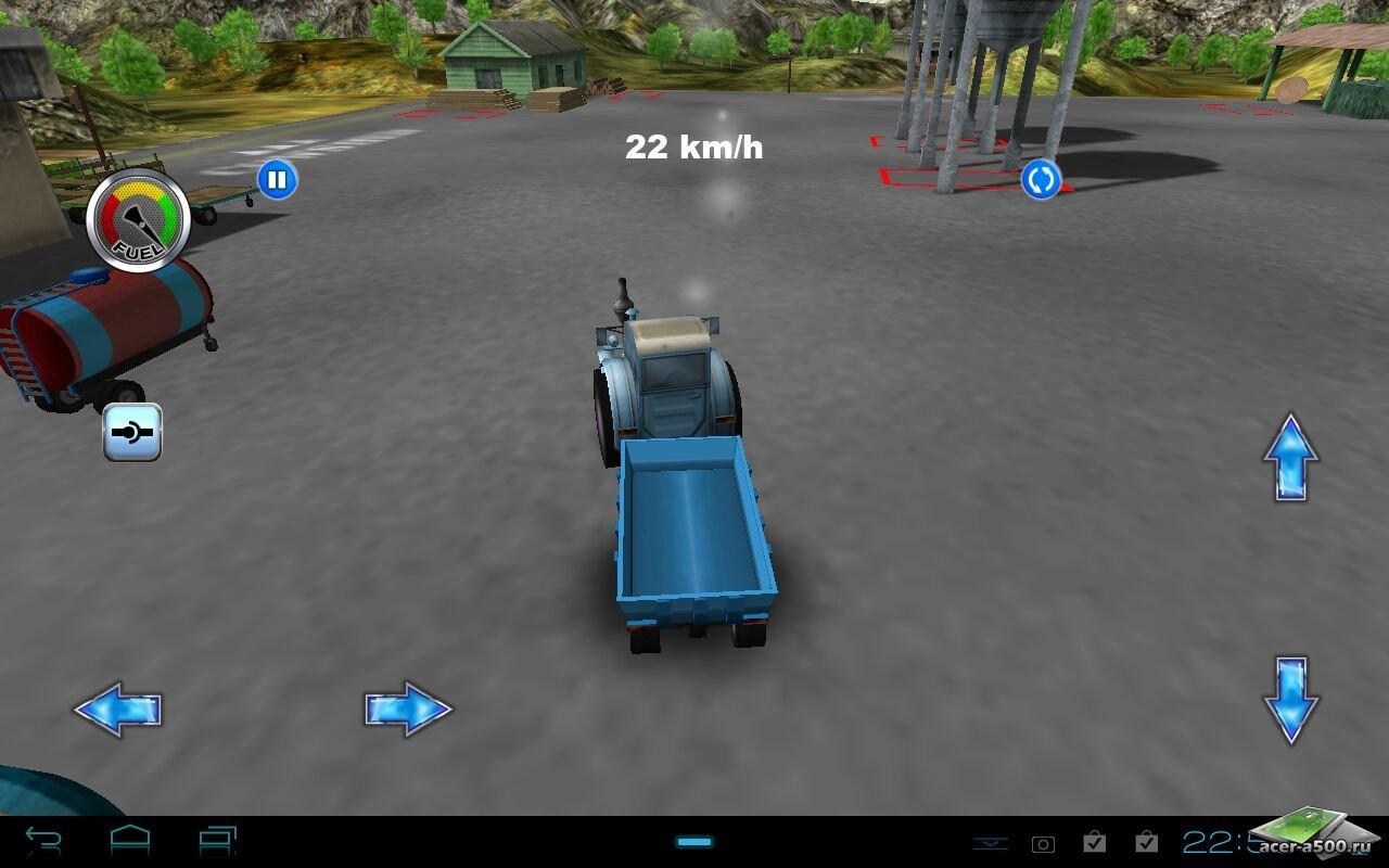 "Игра ""Tractor: Farm Driver - Gold"" для планшетов на Android"