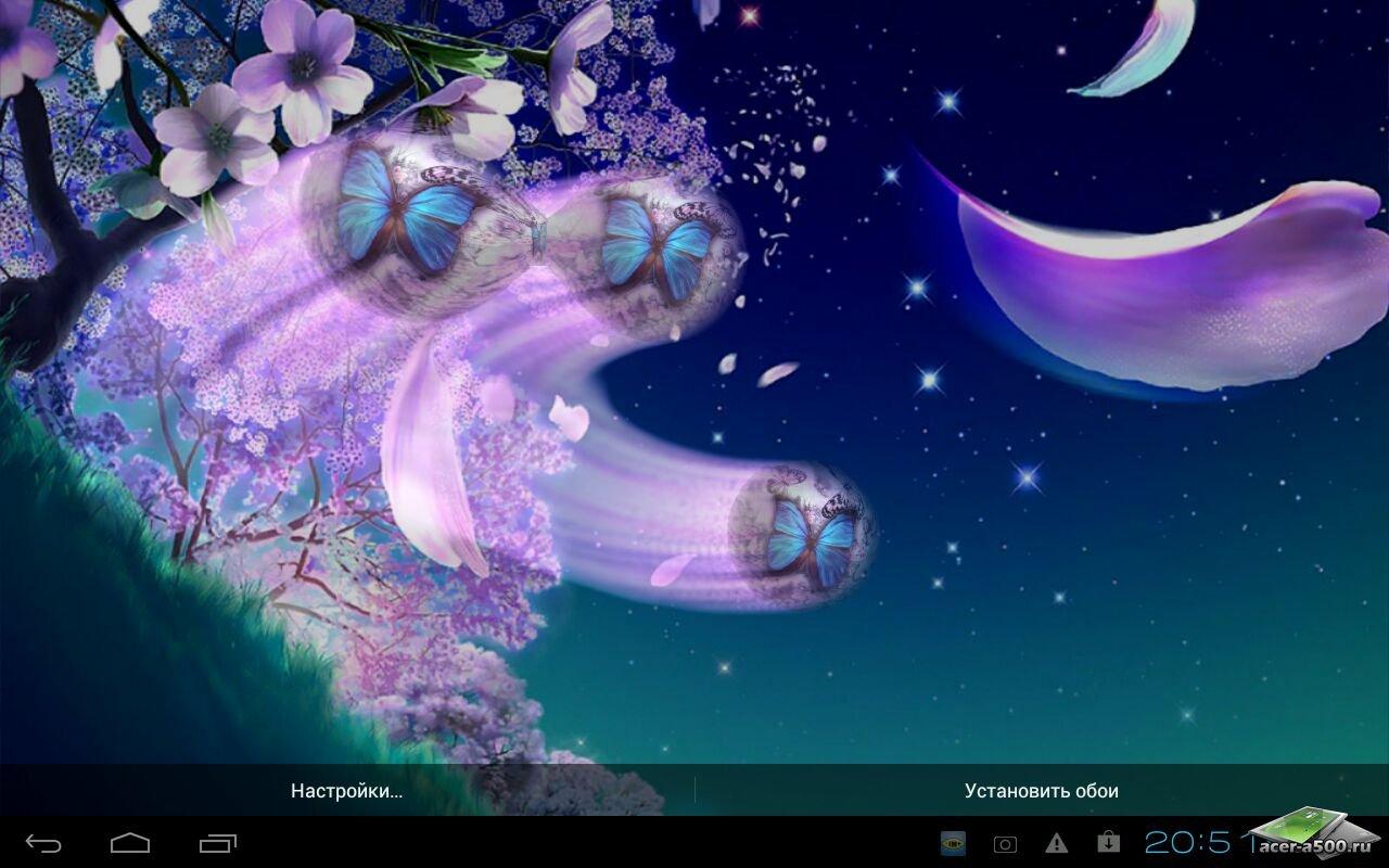 "Живые обои ""Metaballs HD Live Wallpaper"" на Андроид"
