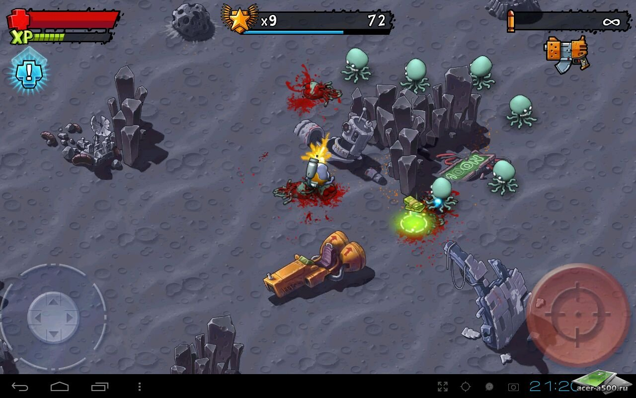 "Игра ""Monster Shooter: Lost Levels"" на Андроид"