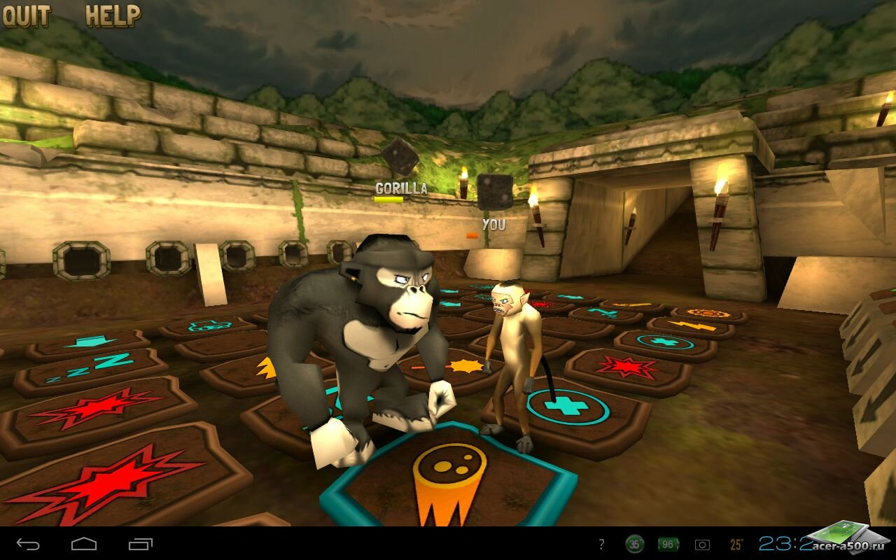 "Игра ""Battle Monkeys Multiplayer"" на Андроид"
