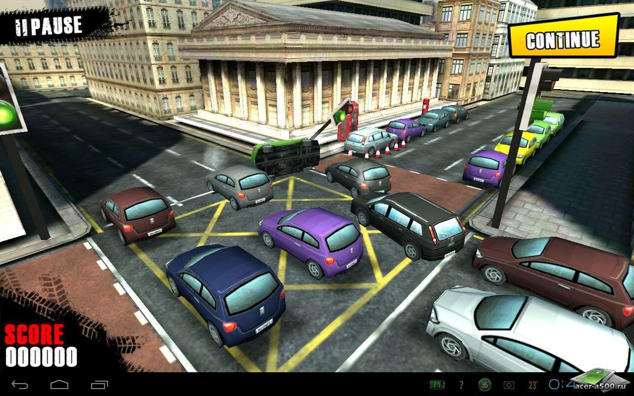 """Игра """"Traffic Panic London"""" для планшетов на Android"""