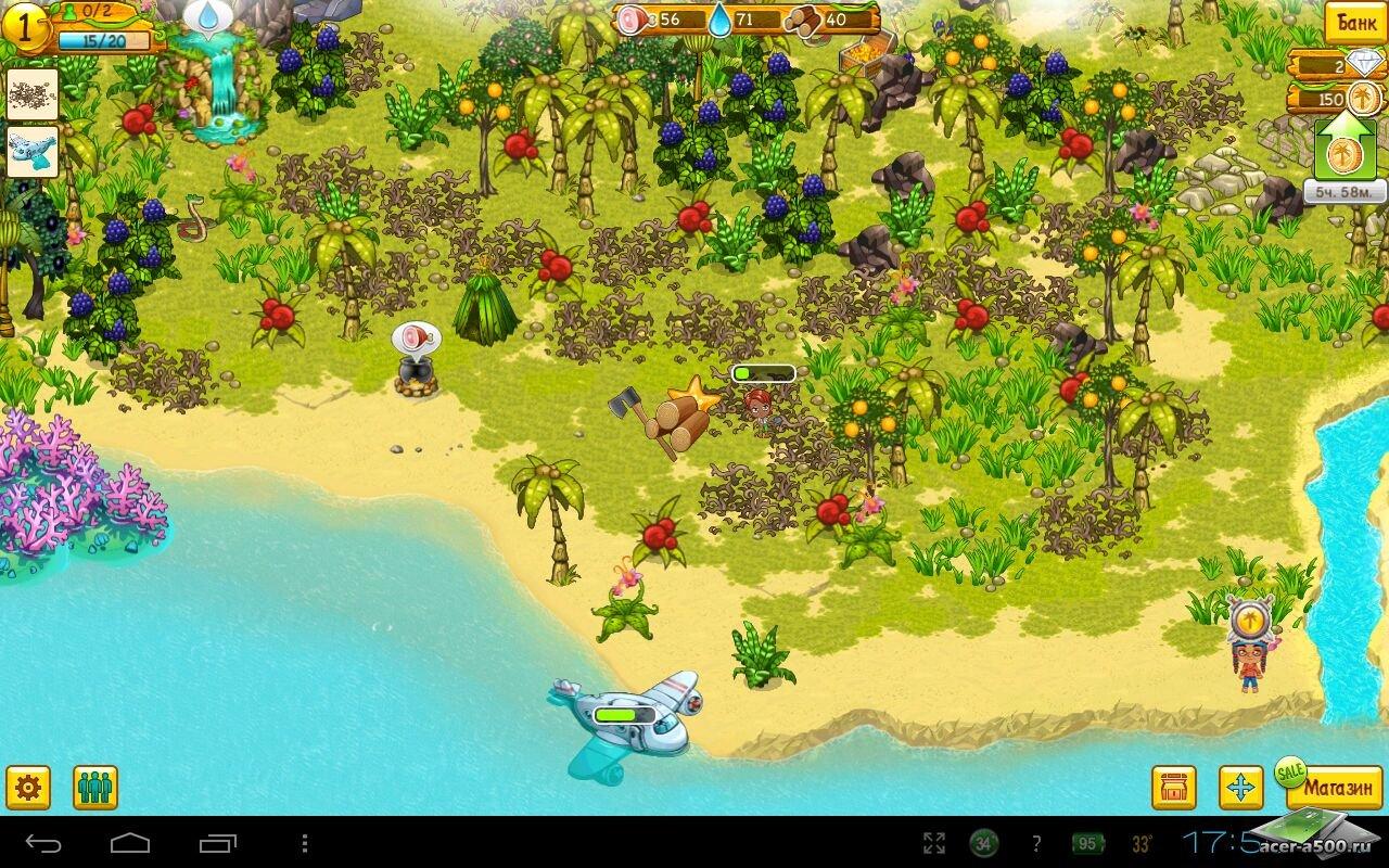 "Игра ""Tiny Tribe"" для планшетов на Android"