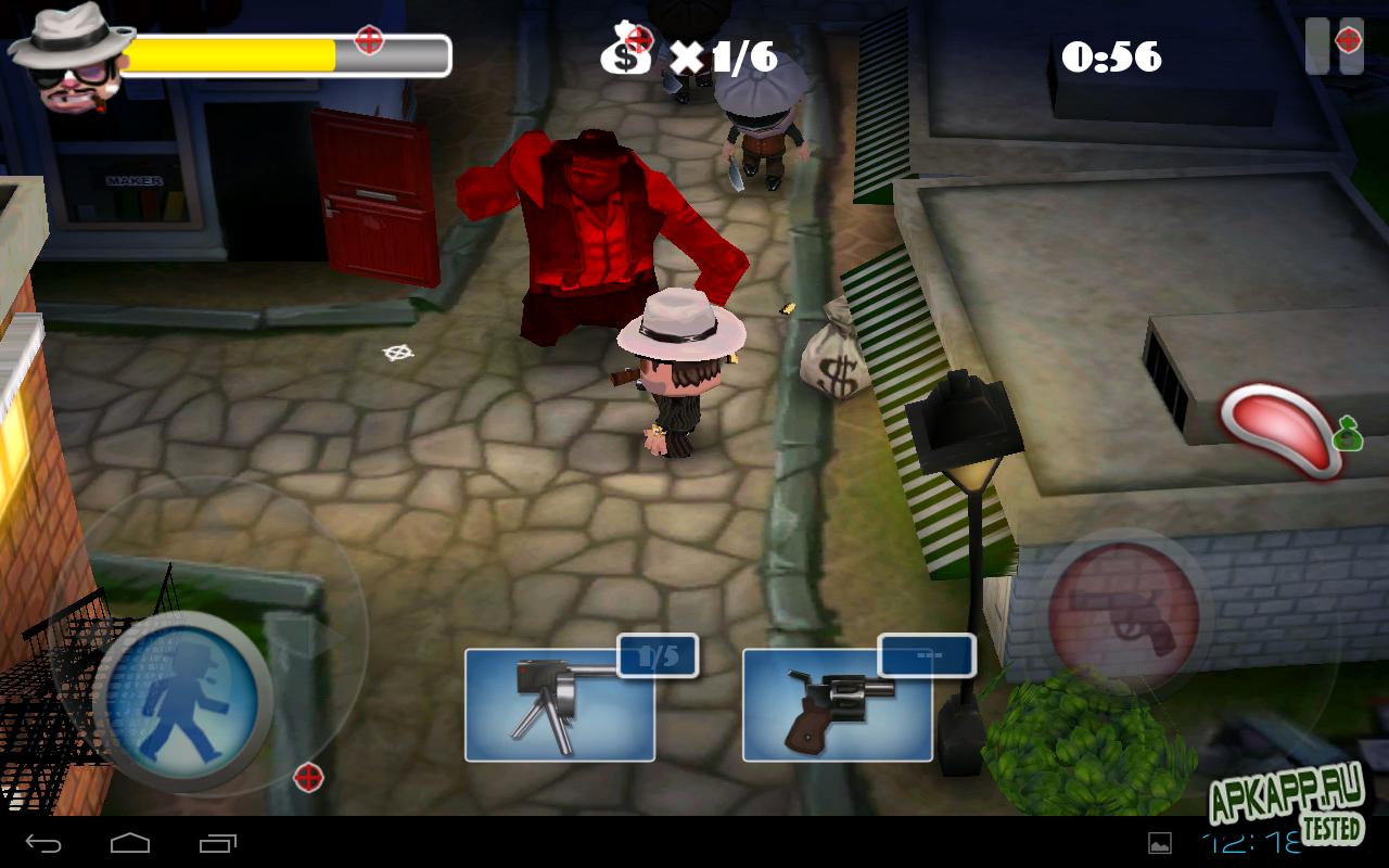 """Игра """"Mafia Rush"""" для планшетов на Android"""