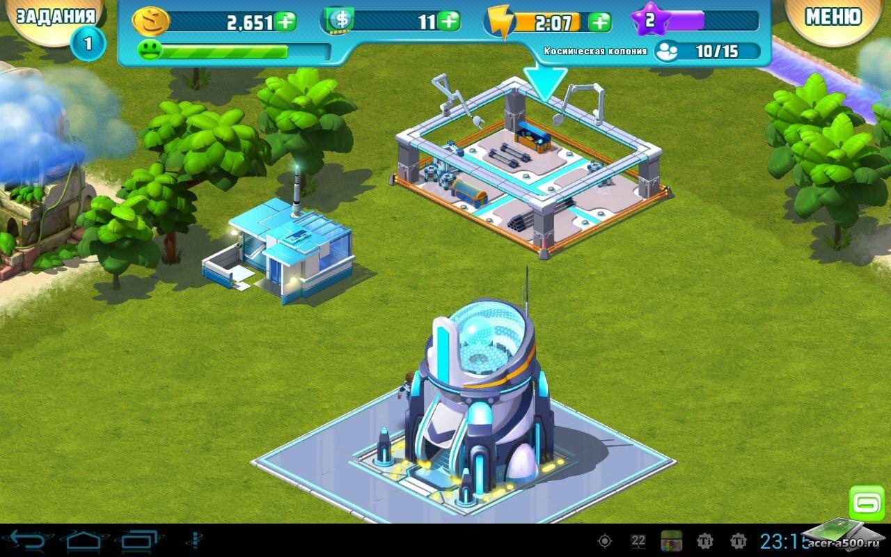 """Игра """"Cosmic Colony"""" на Андроид"""