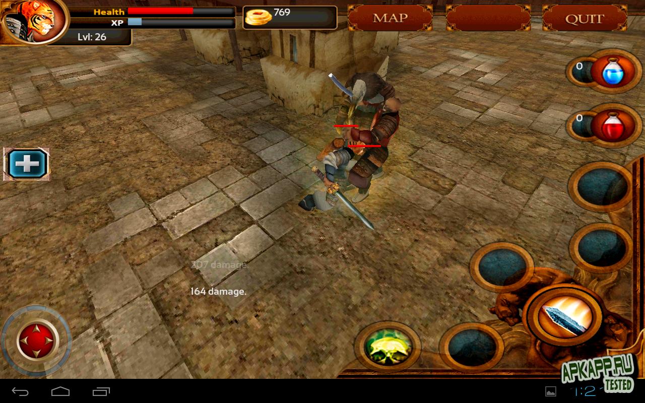 """Игра """"Samurai Tiger"""" для планшетов на Android"""