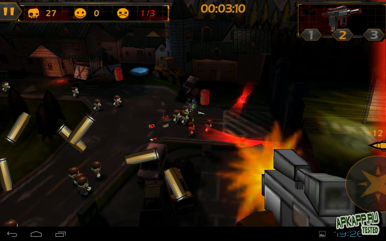 """Игра """"Call of Mini: Sniper"""" для планшетов на Android"""