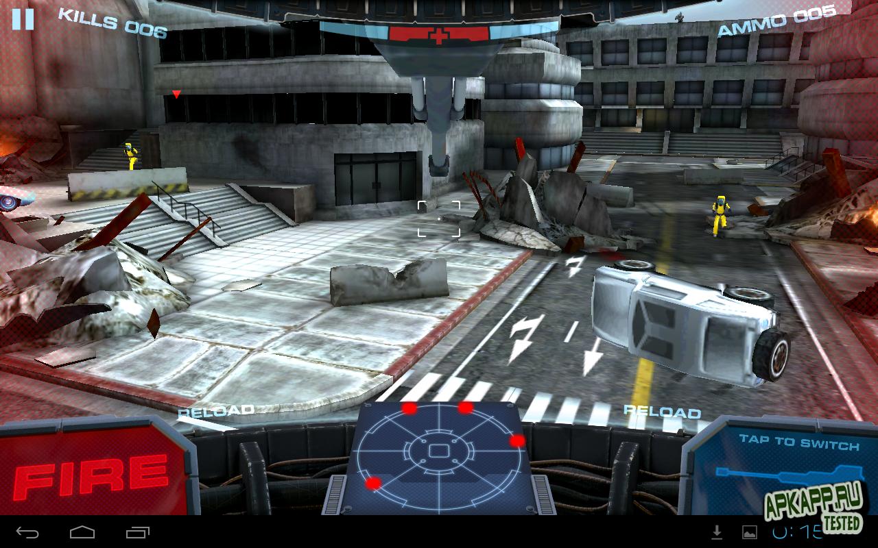 "Игра ""Razor Salvation THD"" для планшетов на Android"