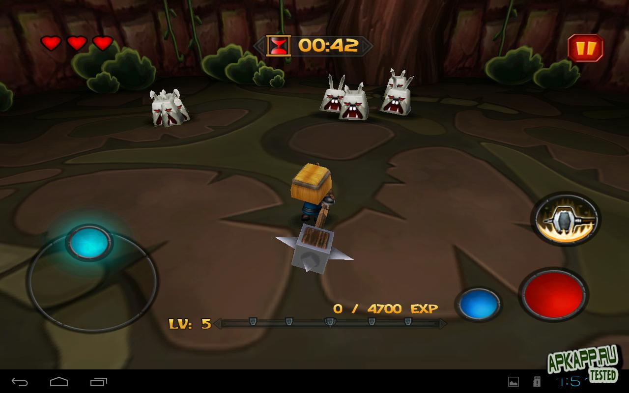 "Игра ""TinyLegends - Crazy Knight"" для планшетов на Android"