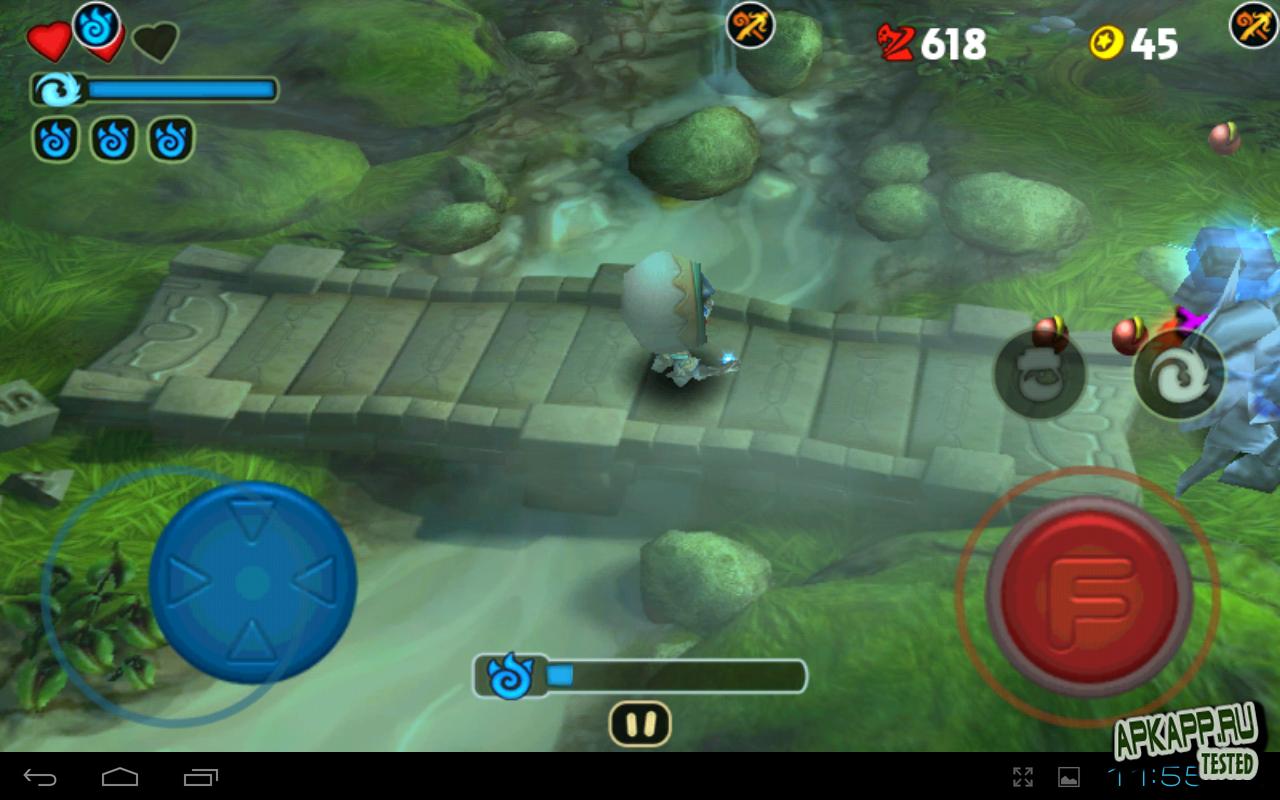 """Игра """"Fantashooting"""" для планшетов на Android"""